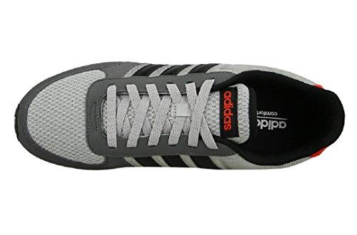 adidas Neo City Racer, Scarpe da Ginnastica Uomo Grigio (Grey Two /Core Black/Core Red )