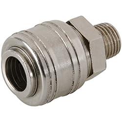 Silverline 237552 Coupleur rapide euro filetage pour tuyau air comprimé