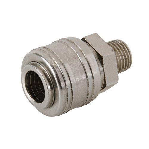 Silverline 237552 Euro Air Line Filetage mâle Raccord rapide 1/10,2 cm BSP