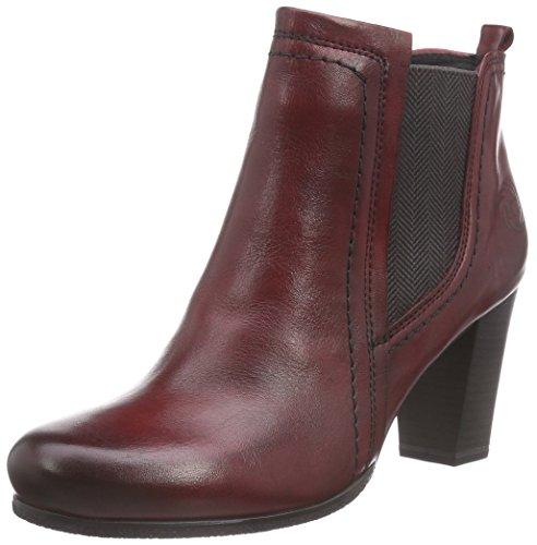 Marco Tozzi Premio 25369 Damen Chelsea Boots Rot (Vino Antic 505)