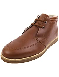 Fred Perry Southall Mid Leather Chestnut