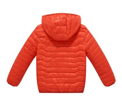 Ohmais Unisex Jungen Mädchen Winter Down Jacket verdickte Winterjacke Jungen Mantel verdickte Trenchcoat Jungen Outerwear Orange