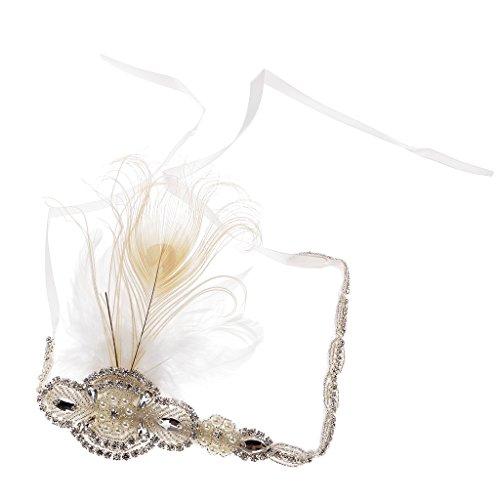 Sharplace Stirnband Charleston Kostüm Schmuck - (Jahre Der Schmuck Kostüm 1920er)