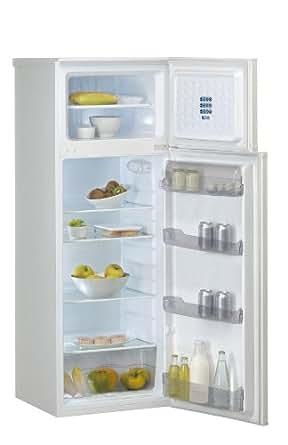 Laden DP168BL Réfrigérateur 2 portes pose libre 252L Classe: A Blanc