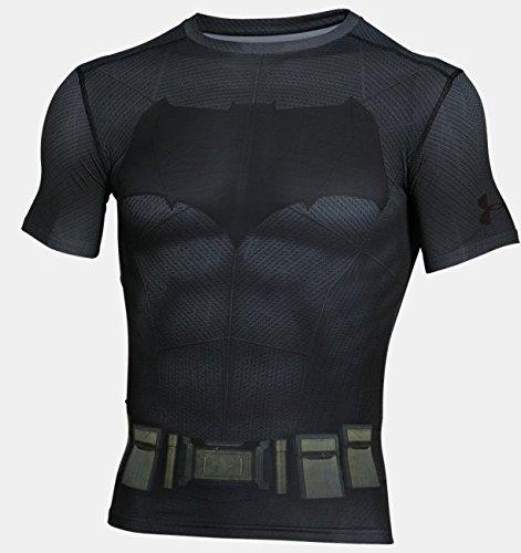 Under Armour Batman Suit SS T-Shirt, Herren, Graphit, XS