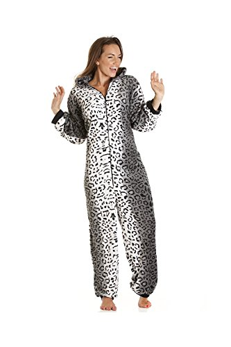 Camille Womens Various Style Super Soft Animal All in One Pyjama Onesies