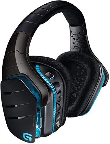 Logitech G933 Artemis Spectrum Casque Gamer sans Fil, Son Surround 7.1 DTS Headphone:X, Transducteurs Pro-G 40 mm, 2,4 GHz, Jack Audio 3,5 mm, RVB Lightsync, PC/Mac/Xbox One/PS4/Nintendo Switch Noir