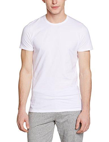 Hom Herren Unterhemd, Uni Weiß (WHITE 0003)