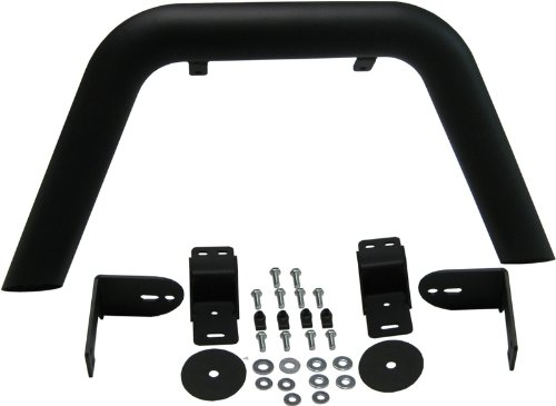 MBRP 130716 Black Coated Front Light Bar/Grill Guard System by MBRP