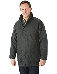 Sherwood Forest Classic Padded Wax Chaqueta, unisex, color Verde - verde oliva, tamaño mediano