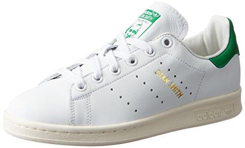 Adidas Stan Smith, Scarpe Da Ginnastica Basse Unisex - Adulto Bianco (calzado Blanco / Calzado Blanco / Verde)
