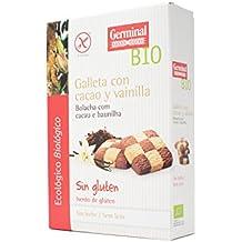 Germinal Galletas Sin Gluten de Cacao con Vainilla - Paquete de 8 x 250 gr -