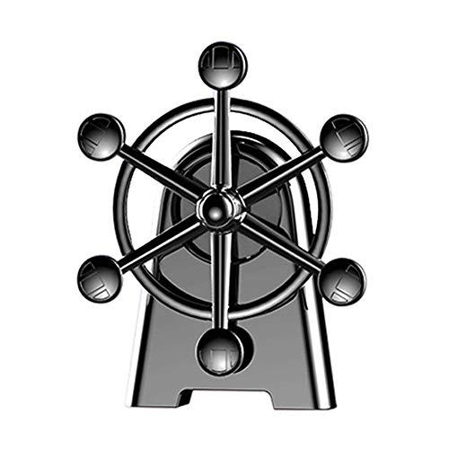 Leiyini rotierenden Riesenrad Auto Parfüm High-End-Auto-Zubehör Klimaanlage Vents Aromatherapie Kreative Parfüm-Dekoration Riesenrad Auto Duft, frisch und anhaltend