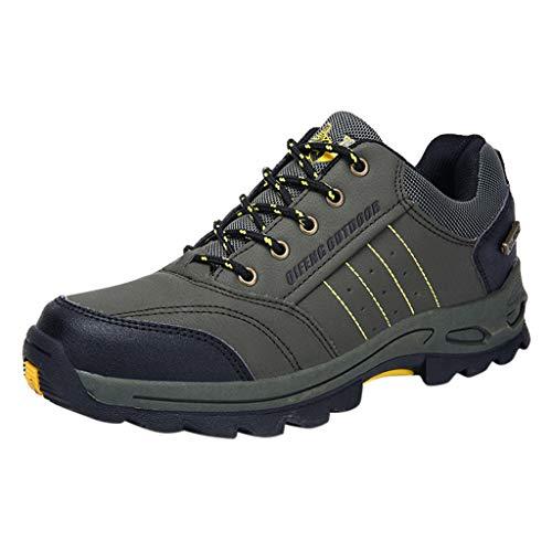SANFASHION Herren Laufschuhe Mode Bequeme Reise Outdoor Schuhe rutschfeste Wanderschuhe Sneaker