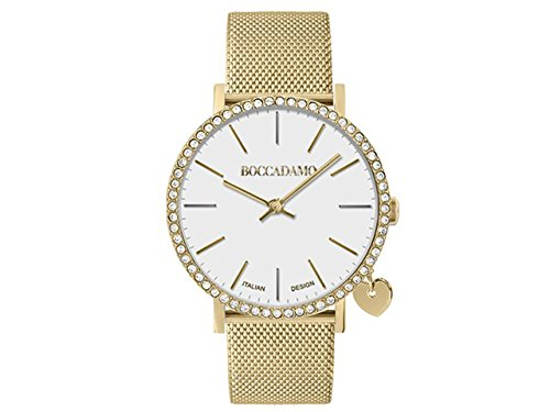 Orologio Donna Boccadamo Time Mya Collection MY021 con Swarovski Dor/Bia/Dor MainApps