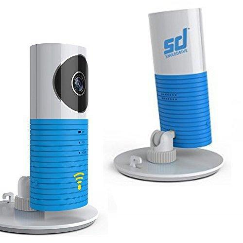 CLEVERDOG WORLD'S SMARTEST PLUG & PLAY WIRELESS WIFI IP P2P CCTV CAMERA - SMILEDRIVE EXCLUSIVE!