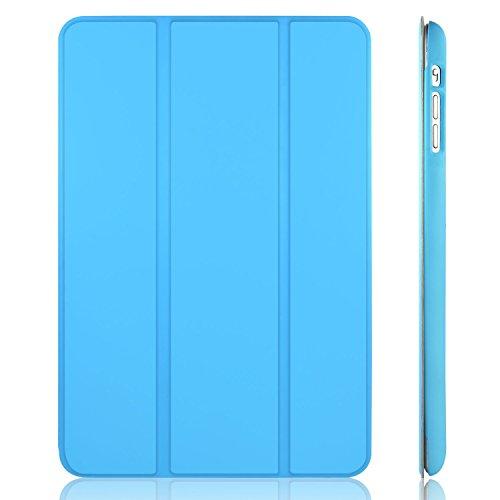 JETech Hülle für iPad Mini 3 iPad Mini 2 iPad Mini, Schutzhülle mit Ständer Funktion und Auto Einschlafen/Aufwachen, Blau