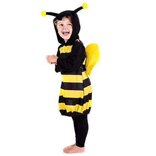 2 Kostüm, Unisex Children, Bumblebee, Größe S ()