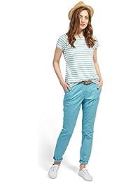 Tom Tailor für Frauen pants / trousers Chino Slim mit Gürtel