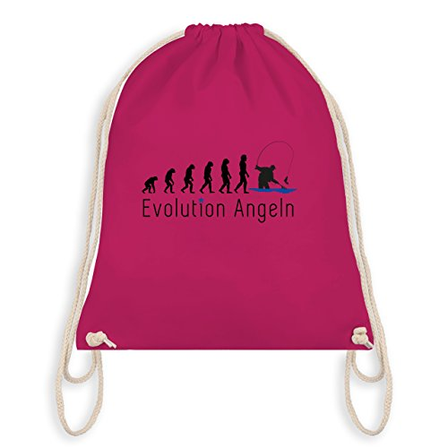Evolution - Angeln Evolution - Unisize - Fuchsia - WM110 - Turnbeutel I Gym Bag