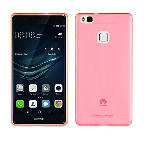 Muvit MUCSL0003 - Funda para Huawei P9 Lite, Color Rosa