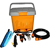 high pressure portable car washer Portable High Pressure Washer Power Pump Self-priming Car Wash Kit DC12V