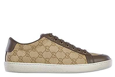 gucci damenschuhe damen schuhe sneakers turnschuhe gg miro soft braun eu 35 354328 ftaz0 9671. Black Bedroom Furniture Sets. Home Design Ideas