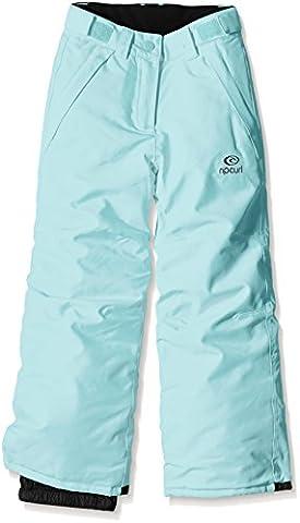 Rip Curl Dinky Pantalon de ski Fille Aqua Sky FR : 10 ans (Taille Fabricant : 10)