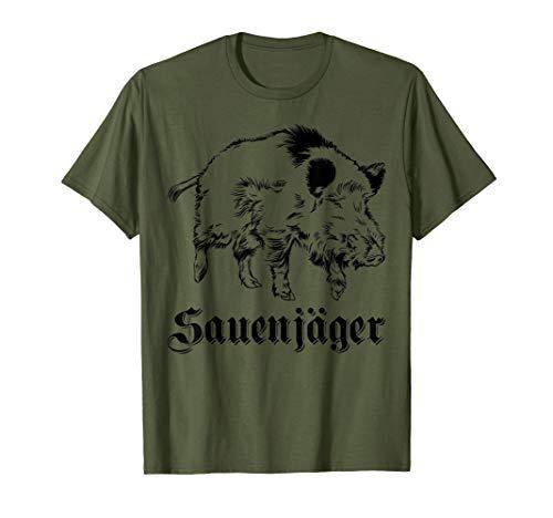 Jagd T-Shirt - Sauenjäger - Geschenk Damen - Jagdbekleidung