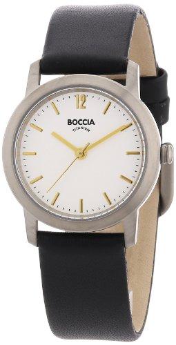 Boccia Damen-Armbanduhr Leder 3170-02