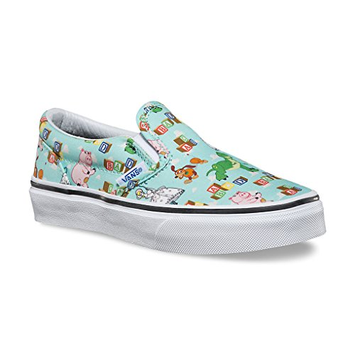Vans Unisex-Kinder Slip-On Low-Top (Toy Story) Andy'S Toys/Blue Tint
