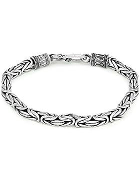 Vintage Persönlichkeit geschnitzt Thai Silber 925Sterling Silber Segen Armband Herren