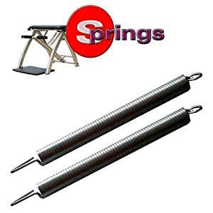 "Malibu Pilates Stuhl Springs Regular Stärke–length11.5""– 289.8. mm–Breite 7/20,3cm-24,6mm."