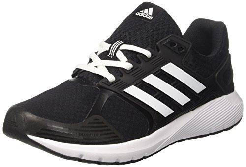 adidas Herren Duramo 8 Laufschuhe, Schwarz (Core Black/Ftwr White/Ftwr White), 44 EU