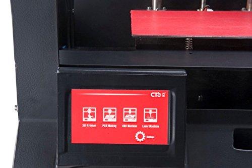Formaker 4-in-1 3D-Drucker - mit der Möglichkeit, eine Doppelkopf -3D-Extrusion Drucker, CNC-Fräse, PCB Radierer, oder ein Laser Graveur, die alle in einer Maschine zu sein -