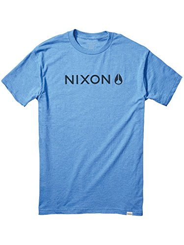 Herren T-Shirt Nixon Basis II T-Shirt royal heather