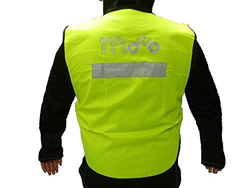 VIPER MOTO Accessories  Motorrad-Zubehör Schutzkleidung Brustpanzer Warnjacke, Reflective Yellow, XL