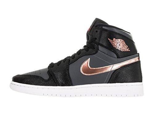 Nike Noir (noir / rouge bronzé métallique - gris foncé - blanc)