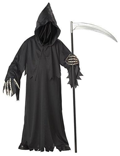 Kostüm Jugendliche Gruselige Für - Horror Halloween Karnevall Kostüm Phantom Sensenmann Erwachsene