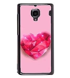 Fuson Designer Back Case Cover for Xiaomi Redmi 1S :: Xiaomi Hongmi 1S (Love Love Hearts Infactuation Togather In Relationship)