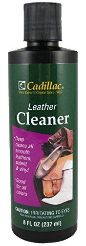 Cadillac Leather Cleaner - ideal für Schuhe, Stiefel, Handtaschen, Auto Polster, Möbel - entfernt Oberflächen Schmutz, Grime, Salz und mehr aus fertigen Ledern