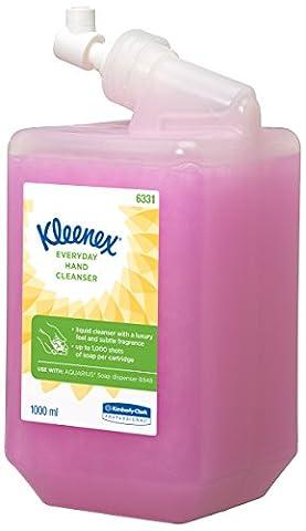 KLEENEX 6331 Lotion de savon rosé - Pack de 6 (6 x 1l)