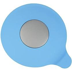 Bouchon bain et évier Baignoire en silicone - GreeSuit Ensemble de vasque Bouchon d'eau en caoutchouc Bouche d'aspiration pour cuisines Salles de bains Laveries bouchon (Blue)