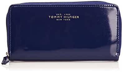 Tommy Hilfiger Womens Felicity Large Zip Around Wallet BW56922065 Twilight Blue