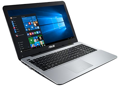 "ASUS F555LA-XX2035T - Portátil de 15.6"" (Intel Core i3-4005U, 4 GB de RAM, Disco HDD de 500 GB, Intel HD Graphics 4400, Windows 10), Color Plateado -Teclado QWERTY Español"
