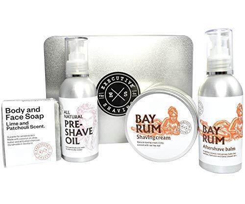 Executive Shaving Bay Rum Boîte de Cadeau
