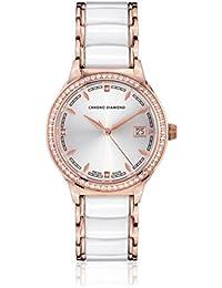 Chrono Diamond Reloj con movimiento cuarzo suizo Woman 10410A Thyrsa