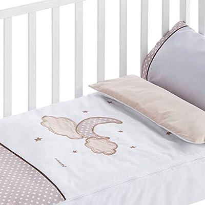 Saco nórdico desenfundable bebé Pekebaby Moon lino
