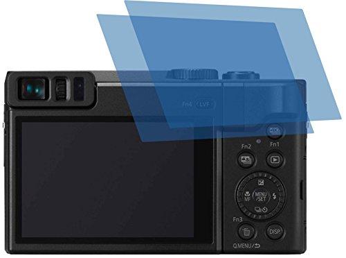 2x ANTIREFLEX matt Schutzfolie für Panasonic Lumix DC-TZ91 Premium Displayschutzfolie Bildschirmschutzfolie Schutzhülle Displayschutz Displayfolie Folie