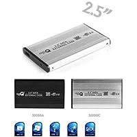 "Master Lap Carcasa de Aluminio HDD SATA 2.5"""